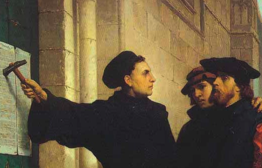 the concept of christianity held by martin luther