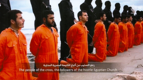 21 Coptic Christian men