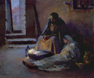 nativity-gari-melchers
